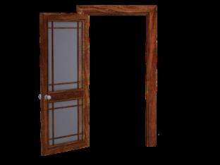 דלת אחרי פריצה של מנעולן
