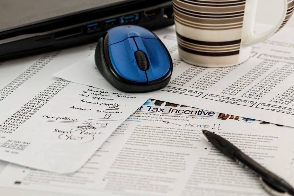 עכבר כחול ודפי מס